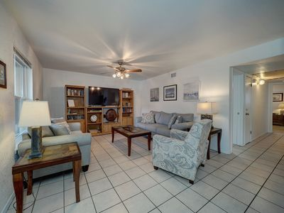Photo for Stay just across the street for the Beach while enjoying the comforts of home