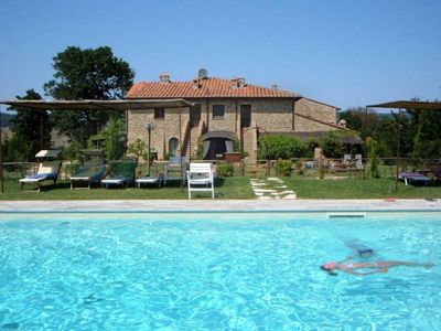 Photo for Holiday apartment Casole d'Elsa for 4 - 5 persons with 2 bedrooms - Holiday apartment in a villa