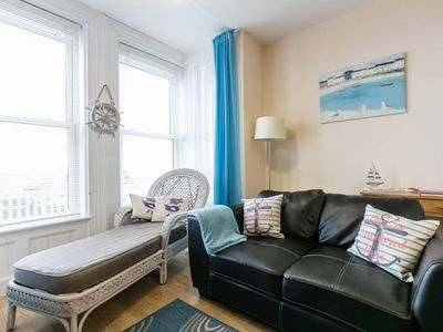 Photo for Ahoy is a Lovely Apartment with Sea Views- 15 Minutes from Belfast - WIFI