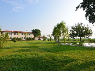 Photo for Apartment in the Po Valley, with pool and wellness center