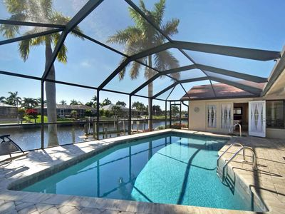 Photo for SWFL Rentals - Villa Connie - Beautiful Gulf Access Pool Home