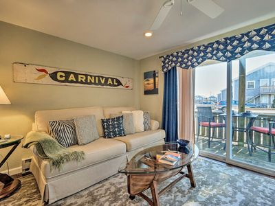 Photo for Provincetown Condo w/Deck -1 Block from Beach!