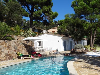 Photo for Villa with pool for 6 guests ref PALMERA
