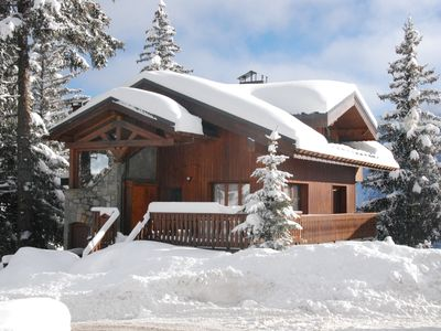 Photo for COURCHEVEL 1850, 4 room apartment for 7 people only 150 meters from the slopes