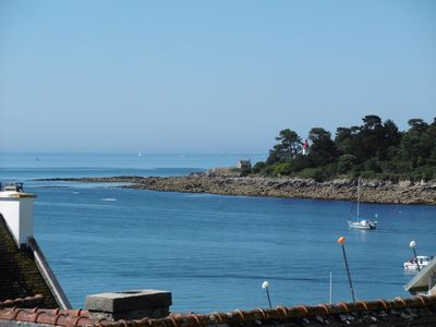 Photo for Charming duplex apartment for 5 people by the sea in Benodet, heated pool