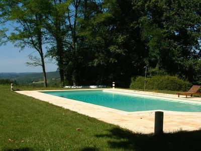 Photo for Stone farmhouse in the heart of a hamlet, peaceful and warm