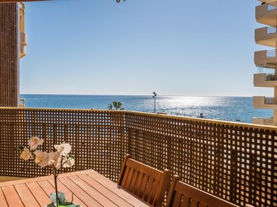 Photo for Dona Sofia - Fuengirola Promenade Apartment with Stunning Sea Views, Wifi