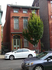 We offer the privacy of a stand alone brownstone.