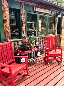 Enjoy the peaceful tranquility of the front porch.
