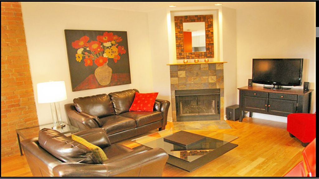 The Aylmer - elegant central condo, rooftop terrace, fireplace, 2 brm (for 2-5)