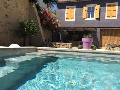 Photo for CIFFRE HOUSE. Vineyard house renovated contemporary spirit garden and pool