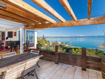 Photo for Seaside Manor - Nelson Waterfront Holiday Home