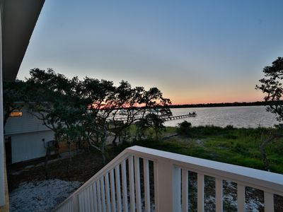 Photo for Brand New House!  Private Pool!  Lagoon Views!  Beach Access! Covered Parking!