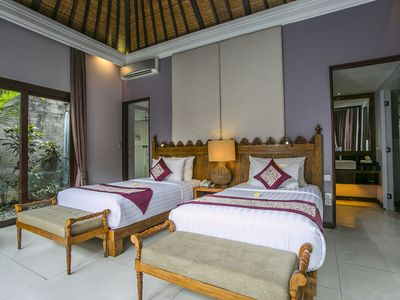Photo for One Bedroom Villa with Private Pool near Seminyak, 10 minutes drive to the beach