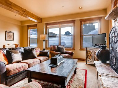 Photo for Rustic Luxurious Villa, Steps Away From Deer Valley Slopes, Private Hot Tub