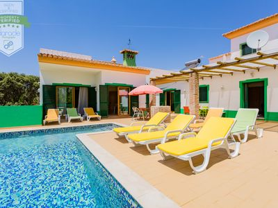 Photo for Private home with heated pool with children's area