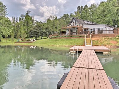 Photo for Hiawassee Home w/Boat Slip & Dock on Lake Chatuge!