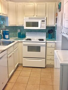 Kitchen with Keurig  &  Coffee Maker. Bring your Kcups. Dishwasher, Washer/Dryer