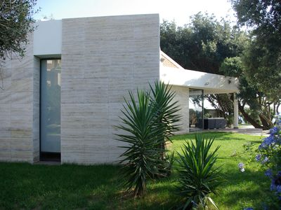 Photo for A dream location!Modern villa with swimming pool on the sea, a stone's throw from Rome !!!