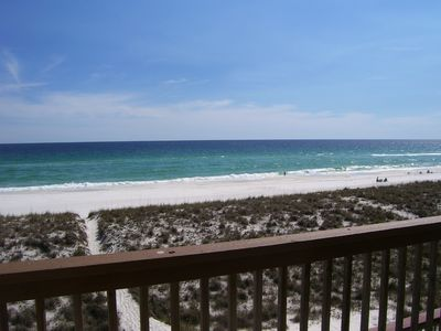 """Photo for """"The Summer House"""" Gulf front Townhome"""