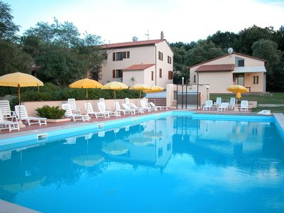 Photo for Beautiful farmhouse 20 km away. from Pisa with Swimming Pool - Elisa Apartment