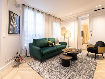 Photo for An Elegant Apartment with Services For 4 People next to the Louvre