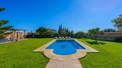 Photo for Fabulous villa with magnificent garden in Mijas