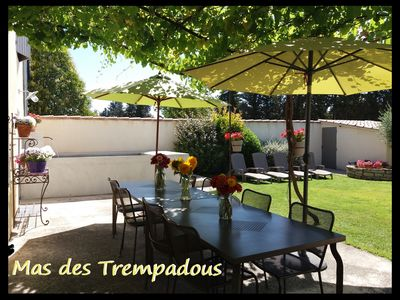 Photo for Gîte of the Mas des Trempadous. House of Comtat Venaissin in the heart of Vaucluse.
