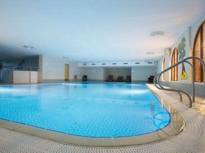 The pool is complimentary and available for your use