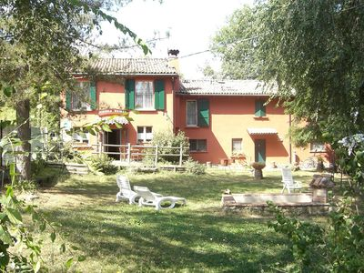 Photo for Agriturismo Piccola Raieda: holidays on horseback and a stopover on the Via degli Dei