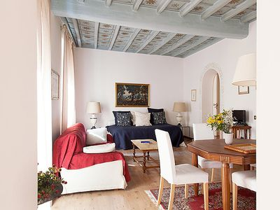 Photo for Vatican City State Apartment, Sleeps 4 with Air Con and WiFi