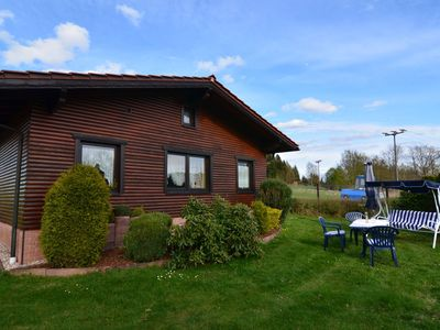 Photo for Holiday house in quiet, sunny setting in the Thuringian Forest; garden and grill