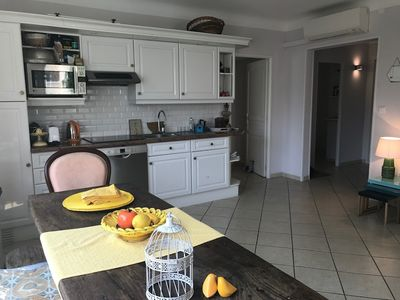 Photo for Apartment 1.3 km from the center of Cannes with Internet, Air conditioning, Terrace (705123)