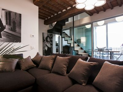 Photo for LOFT 21 - Amazing Apartment in Cortona Center Town
