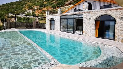 Photo for Stunning New 2 Bedroom Villa with Totally Private Pool and Heated Indoor Pool