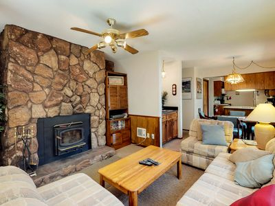 Photo for NEW LISTING! Dog-friendly condo w/ mountain views, patio & easy ski access!