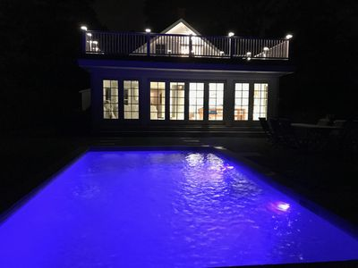 Photo for Beautiful Sag Harbour Village with heated pool