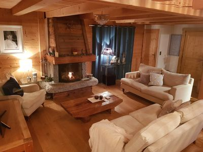 Photo for 3/4 bedroom family chalet in heart of Chamonix