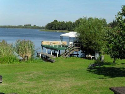 Photo for Holiday house Am Großen Priepertsee (21454) - Cottage on the water