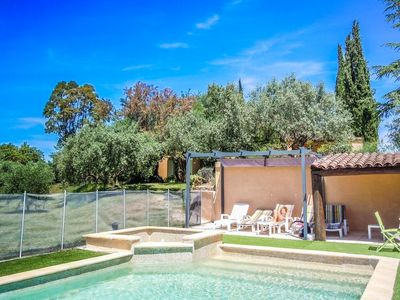 Photo for In the heart of the Luberon, spacious house in Grambois, private pool