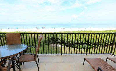 Photo for Beach-Front  End Unit Condo w/ Amazing Views