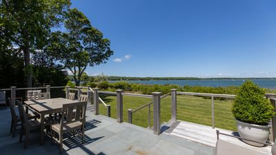 Photo for New Listing: Newly Constructed Luxury Waterfront Home, w/ Beach, Close to Town