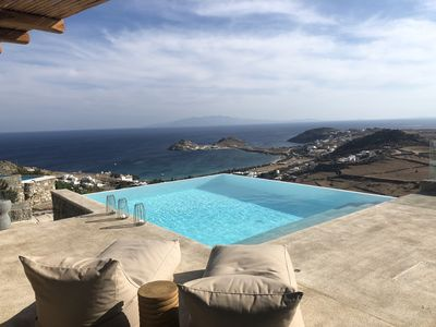Photo for Luxury villa spectacular sea view + infinity pool - 3BR