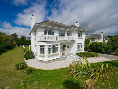 Photo for FANTASTIC!Stunning ChyWyn Falmouth TR11 4EL.Lux&Sea Views. Private Parking