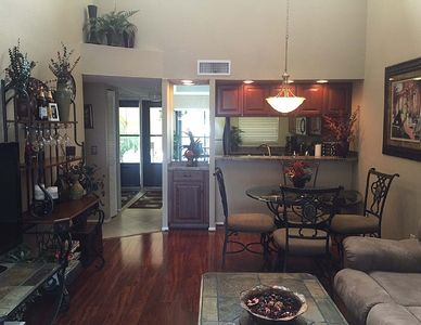 Photo for Beautiful Lakefront Condo Centrally Located! Perfect for Snowbirds and Ext. Stay
