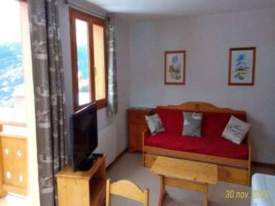 Photo for Apartment Valfréjus, 2 bedrooms, 6 persons