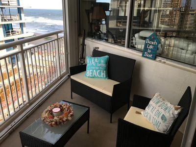 Photo for Perfect Oceanfront Direct View Ocean & Sunrise with BBQ Access