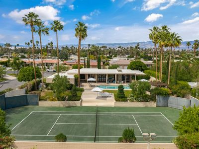Photo for Desert Villa with Private Tennis Court, Pool/Spa, Views & Southern Exposure!