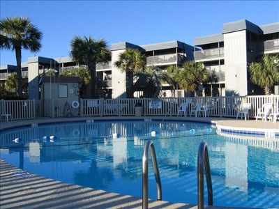 Photo for Beautiful Beach Front Condo, Enjoy Ocean & Island Views, 5-C 2nd floor unit