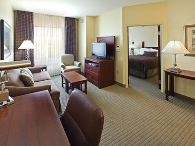 Photo for King Suite. Pool. Free Breakfast. Perfect for Visiting Hot Springs National Park!